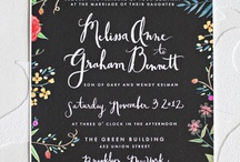 Wed invitations