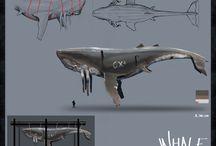 Whale Concept art