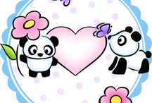 Panda Pals Cards and Ideas