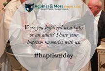 Catholic Baptism / Celebrate your children's baptisms and share yours!