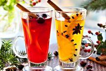 nápoje/sirupy / Teplé i za studena, alko i nealko, sirupy a šťávy
