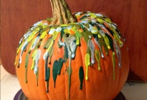 Random Ideas  / Melting Crayons, Pumpkin