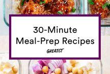 Make ahead lunch prep