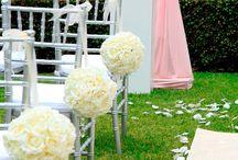 Wedding flower ball