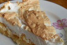 яблочный торт с безе-  хочу