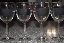Wine glass ideas / by Amanda Guillot