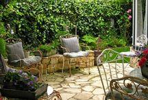 Amelia and Ronda: Backyard Board / garden stuff