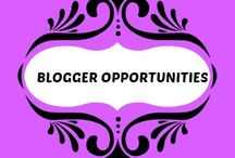 Blogger Opportunity  / This is a board where you can pin your Blogger Opportunities for future events