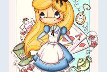 Art & Doodles - Alice in Wonderland