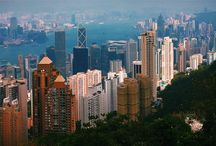 Vitoria Peak / Victoria Peak in Hong Kong!  Very beautiful view of the city.  I recommend to take the cab to the peak then take the tram down to the city.   / by Zsasa Y