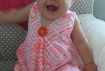 making baby/toddler clothes / by Sandy Davis