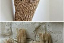 Hessian crafts