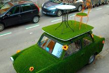 Green Concept / Sustentabilidade. Green Life Style. Green Art/Design.