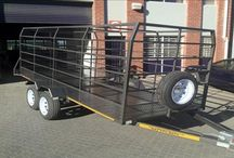 Farming trailers / A selection of our farming trailers