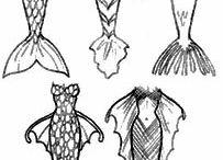 Art Inspiration-Drawing mermaids
