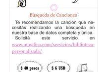 Biblioteca de Canciones Personalizada / Canciones para actos, contenidos, temáticas, situaciones, etc.