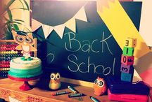 Back To School Craft Ideas and Inspirations (for classroom and party) / Back To School Craft Ideas and Inspirations (for classroom and party)