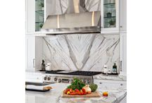 Book Matched Projects / Stone installations featuring book matched slabs