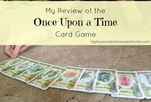 Favorite Games / Our favorite family games, board- or otherwise!