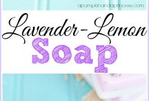 Soap, scrub, cream