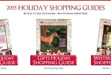2015 Holiday Shopping Guide / Come shop our 2015 Holiday Shopping Guide online! Be sure to visit us for new products everyday during the Holiday Season!
