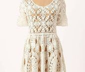 Crochet/Women's Dresses, Skirts, and Suits / by Cheryl Mook