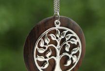 Wood&silver