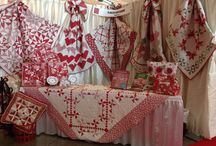 2014 Spring Market - Pittsburgh / Pictures of my booth at the International Quilt Market, Spring 2014 in Pittsburgh, PA. Fabric Collection:  With All My Heart by Gerri Robinson for Red Rooster Fabrics