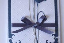 Cards - Memory Box Prim Poppy