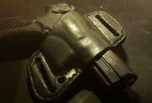 Holster for a pistol Grand Power T12 homemade. / Holster for a pistol Grand Power T12 homemade.
