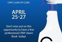 Clean Up Clinics 2016! / OPEN TO THE PUBLIC - Clinical Sleep Solutions is proud to open our highly anticipated annual clean-up workshops to all CPAP users and Sleep Apnea sufferers in the Lower Mainland and Fraser Valley. During this event we will provide you with FREE cleaning, disinfecting, and calibration of your CPAP machine and mask. You will also receive a FREE filter replacement and consultation with a therapist during your visit.