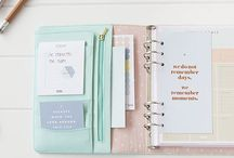 Planned Calm Obsessions / Planning helps ground and relax me. Planners are gorgeous, luxurious helpers to calm the chaos of daily life.