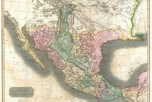 Historic maps of Texas and Mexico / Historic maps of Texas and Mexico / by Prickly Pear Living History Museum