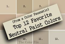 Paint Colors / by Amanda Ebel