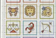 Cross Stitch-Zodiac.