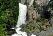 Nature. Waterfalls / Nature. Waterfalls