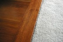 wooden floor to carpet transition