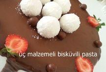 bisküvi li pasta