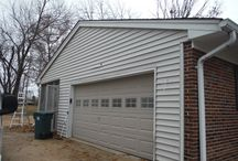 Craneboard D-7 Foam Back   Kirkwood MO. (63040) / This is a siding remodel project that features Craneboard D-7 Vinyl Siding with a foam back. It also includes aluminum wrap fascia and vinyl hidden vent soffit.