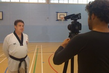 What has Jade Jones' first coach got against our cameraman?