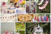 Summer Garden Party   Wedding Themes