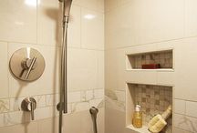 Guest bathroom remodel / by Andrea On