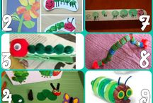 The Very Hungry Caterpillar (crafts, recipe, party ideas and activities) / The Very Hungry Caterpillar is such a classic children's story.  It is fun to expand the reading with crafts, recipes and activities. There are also great ideas for a Very Hungry Caterpillar themed party. / by Capri + 3