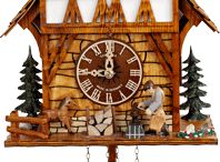 """Northlake Tour - Bavarian Chalet / Get inspired by Cookoo clocks, lederhosen, and polka music!!! Let's get cheesy with this at the same time we are showing off our most amazing skills :) Don't forget there are two different rooms, one is the """"beer garden"""" which is all white and blue and tin and pretzels, and the other is grandma's German dining room witch is all clocks, lace, dark wood, and white-washed walls."""