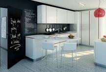 kitchen · Küche · kuchnia