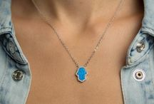Opal Necklaces for Women / Shop Simple & Trendy Women's Opal Sterling Silver necklaces.  Showcase your personality through unique jewelry that makes you feel happy.  There's a true meaning behind every product we sell at Lulugem.