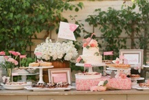 Dessert/candy table  / by Kaleigh Cieslak