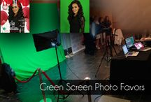Green Screen Photo Favors