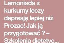 lemoniada z kurkumy