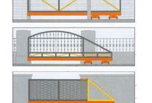 Sliding gates / Sliding gates